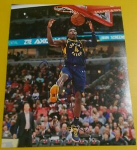 Victor Oladipo Indiana Pacers Autographed 8 By 10 Photo