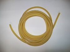 """10 Continuous Feet >>> 1/4"""" I.D x 1/2"""" O.D <<<  Latex Rubber Tubing 1/8"""" wall"""