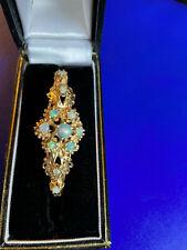 Gorgeous 14K Opal Bracelet, EUC