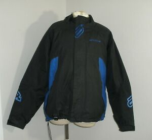 Mens ARCTIVA PIVOT Black Nylon Insulated Snowmobile Jacket Coat 3XL