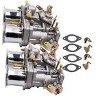 2x Carburetor For Volkswagen Beetle 44 Idf For Weber 2 Barrel Jaguar Porsche