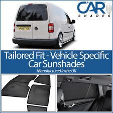 VW Caddy Van 2 rear dr 04-15 UV CAR SHADES WINDOW SUN BLINDS PRIVACY GLASS TINT