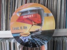"The Sweet - Funk It Up (David's Song) Rare 12"" Picture Disc Promo Single LP NM"