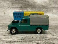 Corgi Toys No 438 Land Rover 109 WB - Original Blue Yellow Box