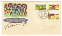 "1994 FDC. Australia. Year of the Family. Pict.PMK ""CANBERRA"""