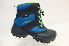 COLUMBIA Blue Sz 4 Kids Waterproof Snow Boots