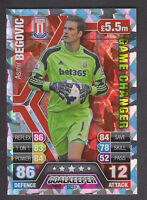 Match Attax Extra 2013/14 - Game Changer - GC29 Asimir Begovic - Stoke