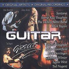 Guitar Greats Rock CD 2007 Various Artists Santana Ted Nugent Stevie Ray Vaughan