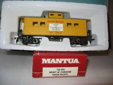 Mantua Ho Scale #726-503 Heavy 36' Caboose Union Pacific #25515