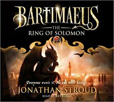 The Ring of Solomon (The Bartimaeus Sequence) by Jonathan Stroud - Audio CD NEW