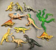 11 Vintage Dinosaurier Figuren - u.a. 1992 Allosaurus, 1993 Tyrannosaurus