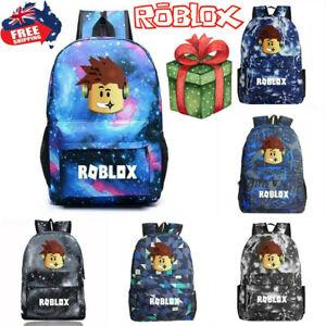 Roblox Backpack Kids School Bag Students Boys Bookbag Handbag Travel bag AU SELL