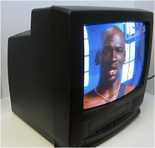 """13"""" Quasar TV-VCR Combo Tested & Working - no loud static"""