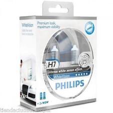 Bombillas Philips White Vision H7 W5W Lámparas 60%+ Luz 4300K Blue Vision Ultra