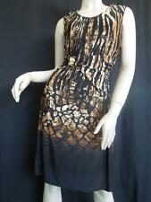 ROBERTO CAVALLI DRESS IL Bianco 6 M IT 40 GREAT FALL COLORS