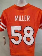 New-Blank-Front-Flaws Von Miller #56 Denver Broncos Youth 8 S Small Jersey