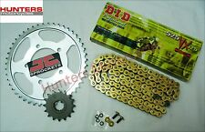 Honda CBR600RR 2003 to 2006 DID Gold X-Ring Chain & JT Sprockets Kit Set