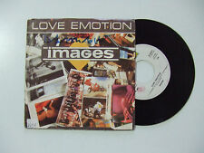 "Images ‎– Love Emotion- Disco Vinile 45 Giri 7"" Stampa ITALIA 1986"