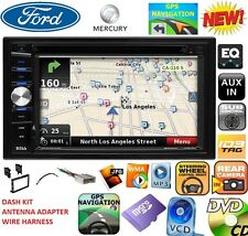 FORD MERCURY GPS NAVIGATION SYSTEM BLUETOOTH CD USB AUX BT DVD CAR Radio Stereo