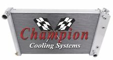 "1978 - 1983 Chevy Malibu w/ 26"" wide Core RC Champion 4 Row Radiator"