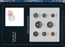 Coin Sets of All Nations Switzerland 1983-1986 UNC 2,5 Francs 1985 2.9.85