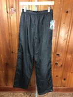 Holloway Size S Jogger Nylon Pants Waterproof Black Wind Resistance (G)