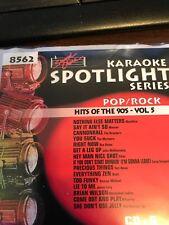 SOUND CHOICE KARAOKE CDG 90'S POP/ROCK 8562