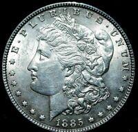 1885 Morgan Silver Dollar UNC A46-552