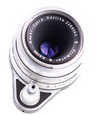 Meyer Görlitz Primotar E 50 mm f 3,5  Q1 Exa Mount SN 2268563 Tested / Top