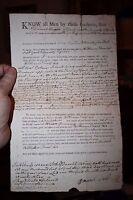 Original 1799/1800 Deed to the Boon Island Lighthouse Island York County Maine