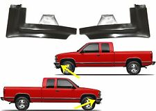Pair Fender Filler Pieces For 1994-1999 Chevy & GMC Trucks New Free Shipping USA