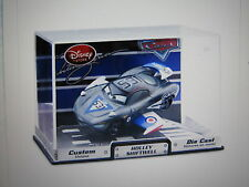 DISNEY CARS DISNEY STORE AVIATOR SERIES HOLLY SHIFTWELL  W/ DISPLAY