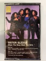 Sister Sledge When The Boys Meet The Girls (Cassette)