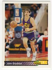 figurina CARD BASKET NBA 1992/93 NEW numero 249 JOHN STOCKTON