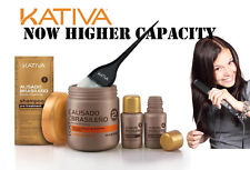 Kativa Keratin and Argan Oil Brazilian Straightening NEW Kit-GREATER CAPACITY