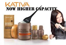 Kativa Keratina y Argán Aceite de Brasil alisado NUEVO kit-greater CAPACIDAD