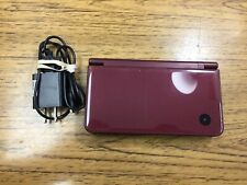 Nintendo DSi XL UTL-001(USA) Burgundy Red Maroon w/ Charger