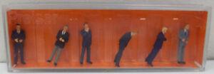 Preiser 10380 HO Scale Businessmen Figures (6)