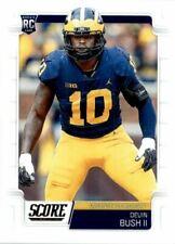 2019 Score Football Devin Bush Rookie Card Pittsburgh Steelers #370