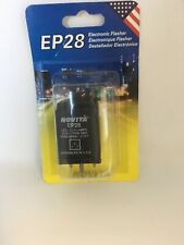 Novita Electronic Flasher Relay EP28 3-PIN Turn Signal - Hyper Flash Fix - USA