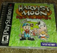 Harvest Moon: Back to Nature (Sony PlayStation 1, 2000) New * Factory sealed PS1