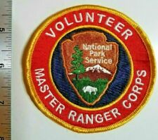**VERY RARE** --- National Park Service Volunteer Red Patch