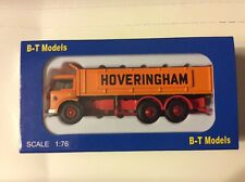 B.T MODELS 1:76 Scale OO Gauge DA-87 Ford D Series Hoveringham Bulk Tipper