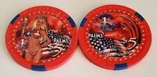 $5 Las Vegas Palms 4th of July 2011 Casino Chip - Uncirculated