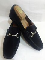 to boot New York Adam Derrick black suede loafers men's size 8 .5 made i