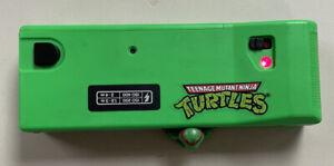 Vintage Teenage Mutant Ninja Turtles 110 Signature Camera Green Raphael Nice!!