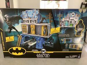 DC 3 In 1 Batcave Batman Creature Chaos Double Sided Gotham City & Batcave