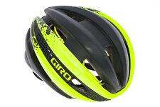 Giro Synthe Bike Helmet Small 51-55cm Black/Yellow - Excellent