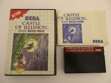 CASTLE OF ILLUSION Starring MICKEY MOUSE - SEGA MASTER SYSTEM - Complet