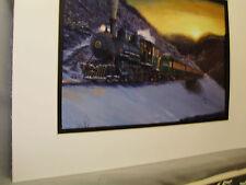 Tweetsie RR Steam Tennessee N Carolina   Artist Railroad Archives ee